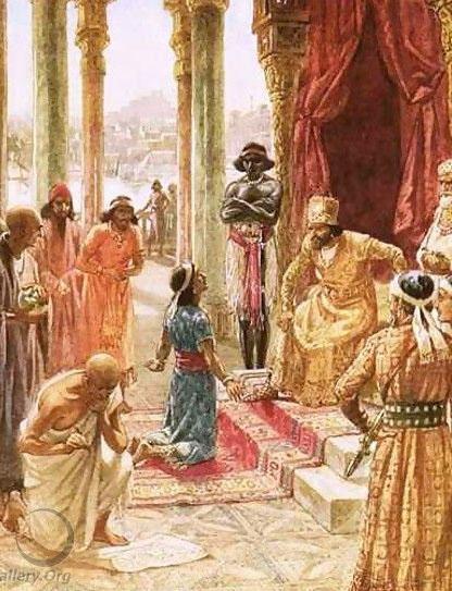 Daniel interprets the dream of Nebuchadnezzar by William Brassey Hole